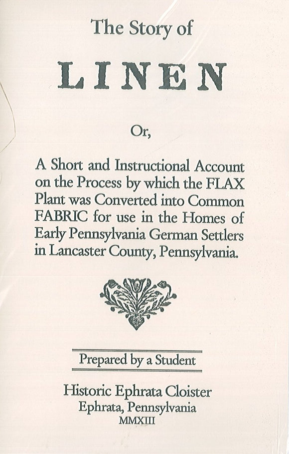 The Story of Linen