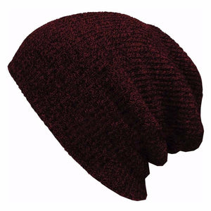 Unisex Multi-Colored Wool Beanie