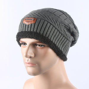 Men's Wool Multi-Variation Beanie with Optional Scarf Versions