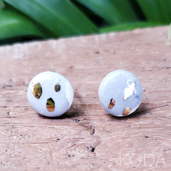 Multi-Verse Button Studs with Gold  002