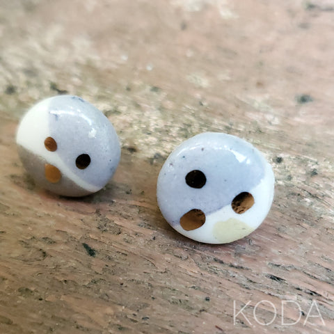 Multi-Verse Button Studs with Gold  004