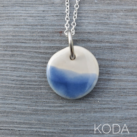 Spectrum Circle Necklace - Downpour
