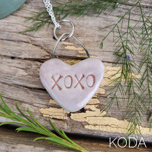 Sweetheart Candy Necklace - XOXO