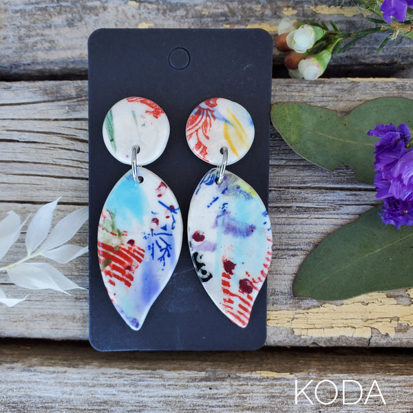 Graffiti Mandy Earrings 017