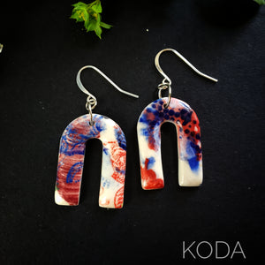 Graffiti Ryann Hook Earrings 001