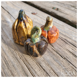 Set of 3 MINI Pumpkins 004