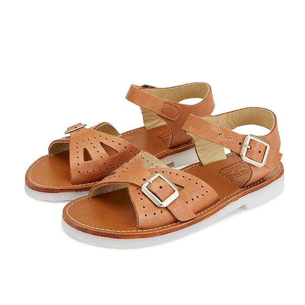 Pearl Sandal Clay Leather | Teen