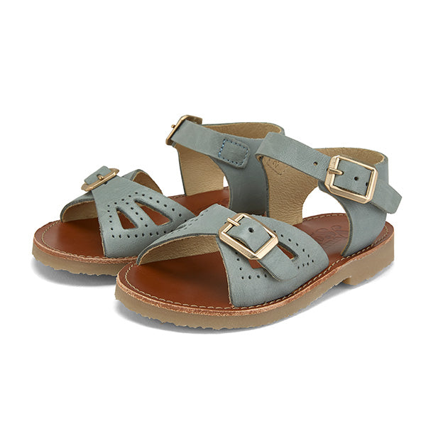 Pearl Sandal Smokey Sage Leather