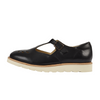 Rosie T-bar Shoe Black Leather | Teen