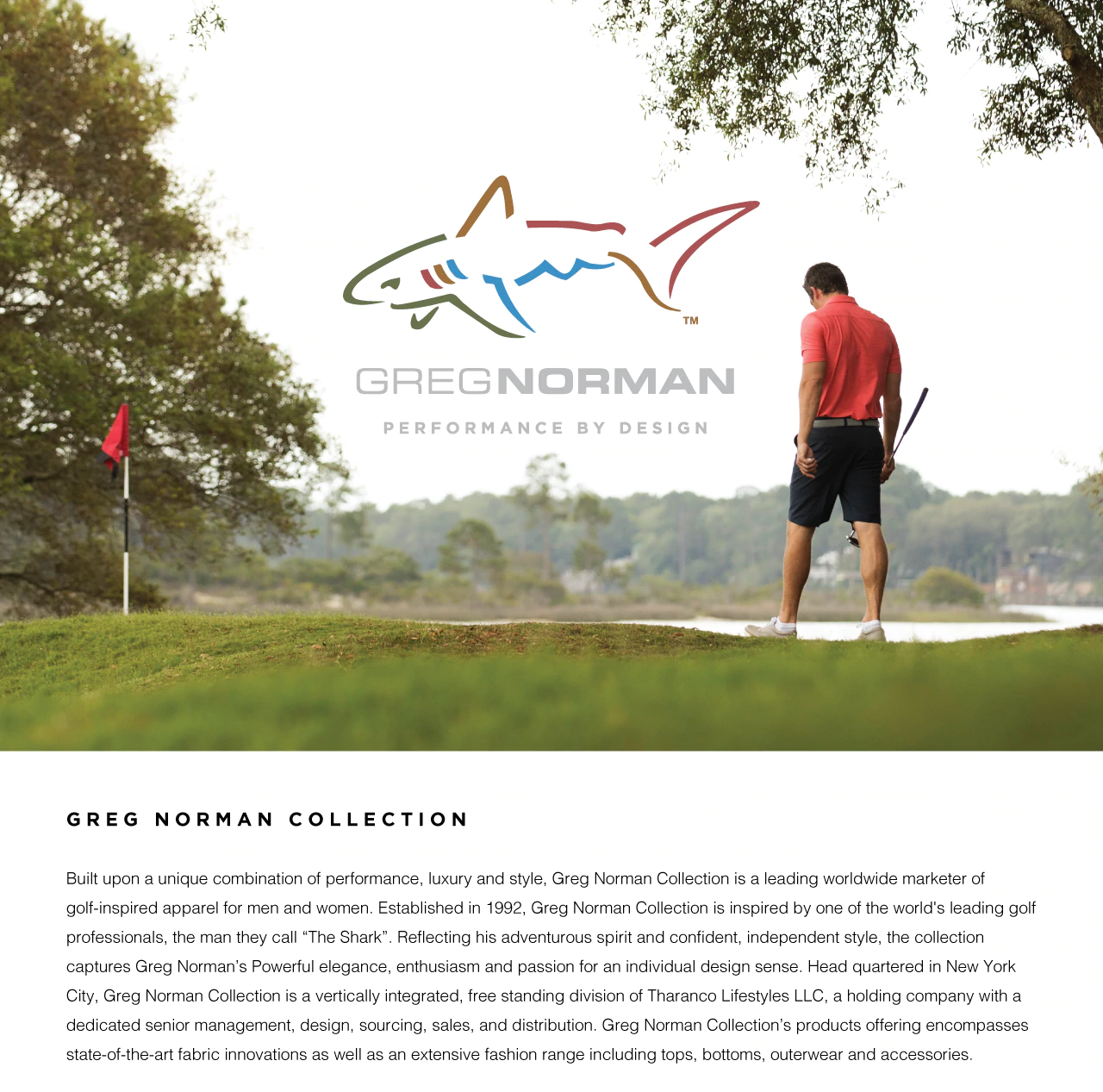 About Greg Norman Collection