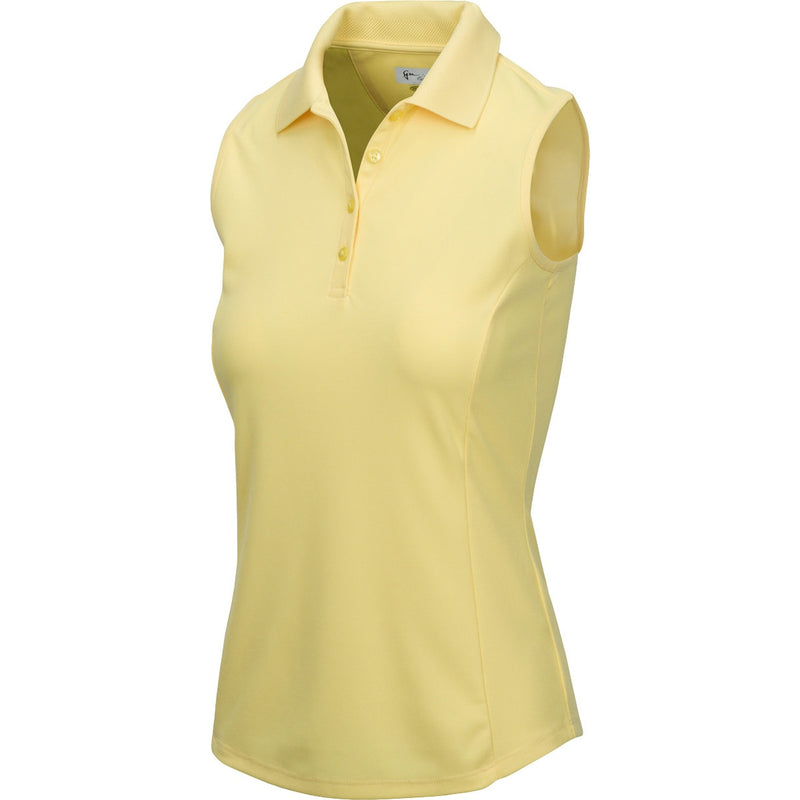 Sleeveless Play Dry Protek Micro Pique Polo