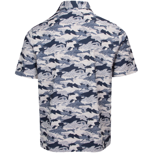 Camo Shark Stretch Polo