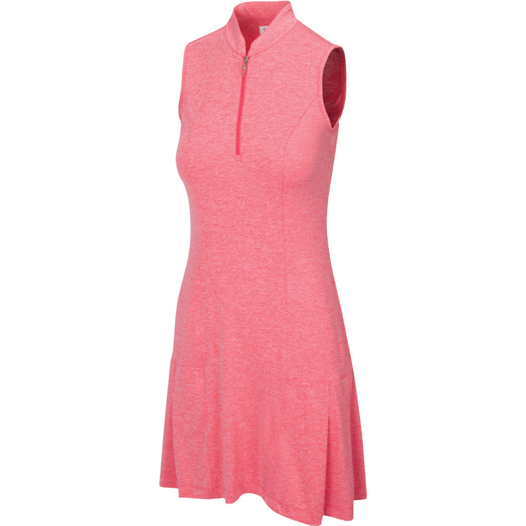 HEATHER YARN S/L DRESS