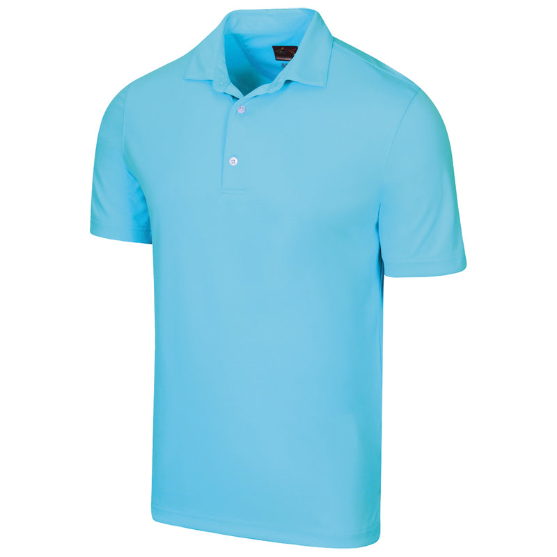 SHARK TEXTURED JACQUARD POLO
