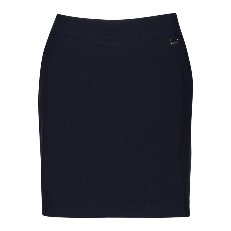 "18"" Pull On 4-Way Stretch Skort Dark Navy"
