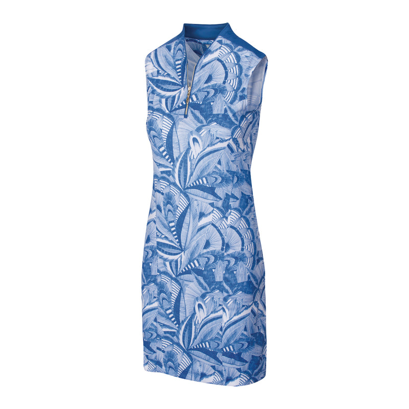 LIBERTY SCULPTED SLEEVELESS DRESS