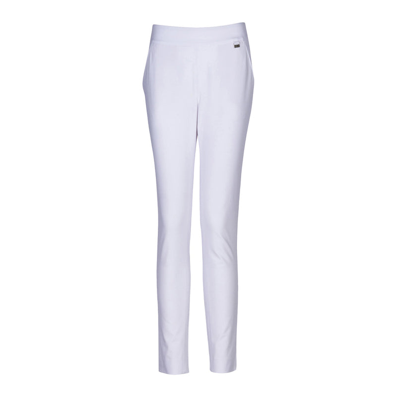 "Pull On Pant 29"" Inseam White"