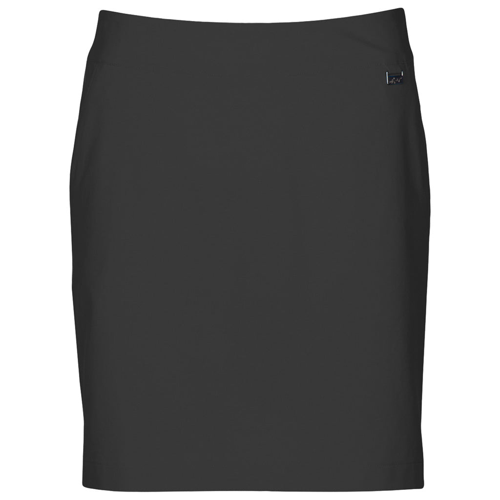 "18"" Pull On 4-Way Stretch Skort Carbon"