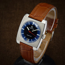 Load image into Gallery viewer, swiss watch, diver watch, enicar sherpa, scuba watch, super compressor watch, zodiac sea wolf, vintage watch, plongee, panerai luminor, panerai marina, orient king diver, panerai watch, omega seamaster, tissot seastar, seiko diver, citizen diver, certina ds, certina argonaut, certina argonaut 220,