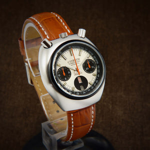 Citizen Bullhead Automatic Flyback Chronograph 8110A From 70s
