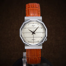 Load image into Gallery viewer, Luch Unique NOS Very Fabulous Soviet Dress Watch In Mint Condition From 80s