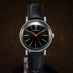Luch De Luxe Ultra Slim Soviet Mens Watch From 70s
