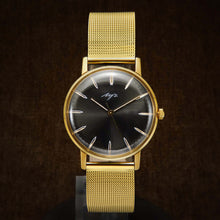 Load image into Gallery viewer, Luch De Luxe Ultra Slim Soviet Mens Watch From 1977