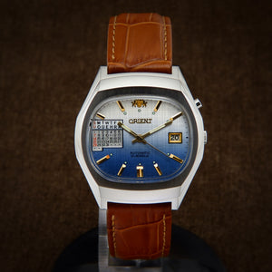 Orient Multi Year Calendar Japan Watch From 70s
