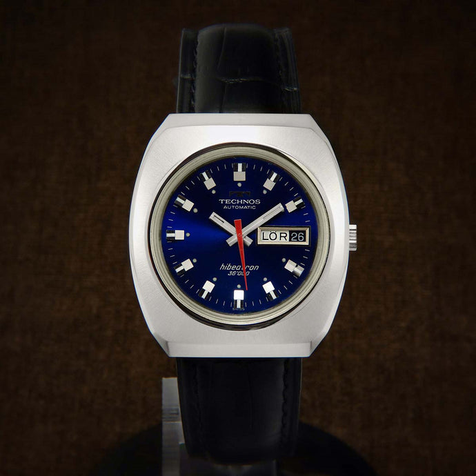 Technos Hibeatron 36000 Automatic Watch From 70s