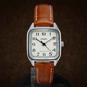 Raketa Square NOS Soviet Watch From 70s