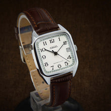 Load image into Gallery viewer, Raketa Square NOS Soviet Watch From 70s