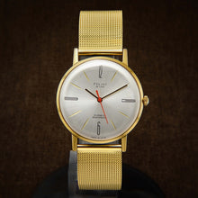 Load image into Gallery viewer, Poljot De Luxe Ultra Slim Soviet Mens Watch From 70s
