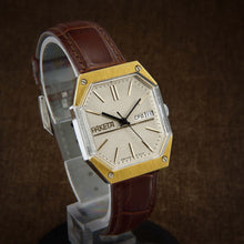 Load image into Gallery viewer, Raketa Octagonal NOS Soviet Watch From 80s
