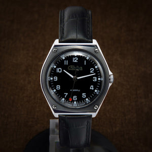 Slava NOS Racing Dashboard Style Early Quartz Soviet Watch From 70s