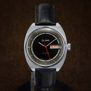 Slava Soviet Mens Watch From 70s