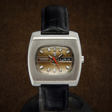 Load image into Gallery viewer, Tressa Laser Beam Automatic TV Dial Swiss Watch From 70s