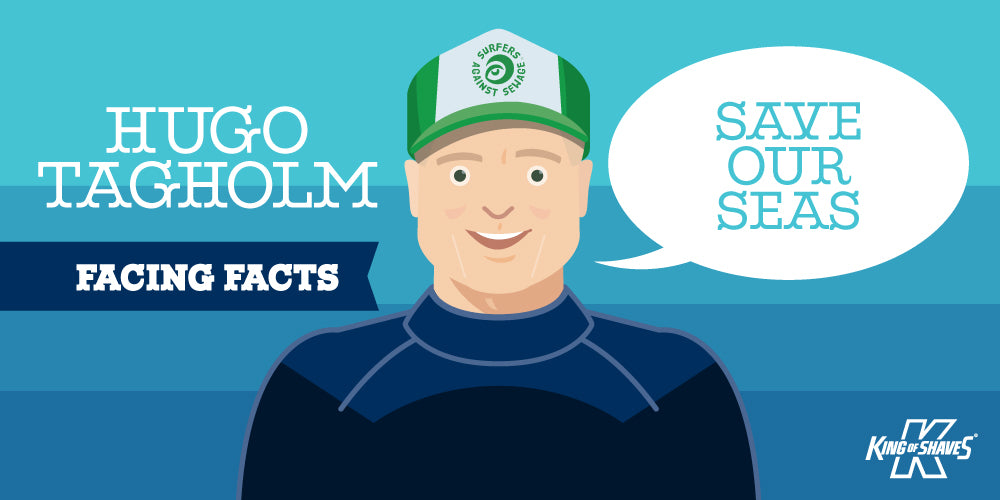 "Facing Facts: Hugo Tagholm, CEO Surfers Against Sewage: ""Save Our Seas"""