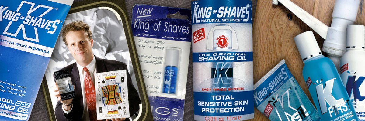 The history of King of Shaves