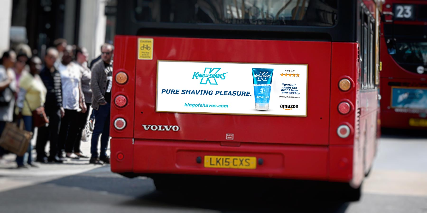 London Bus Adverts