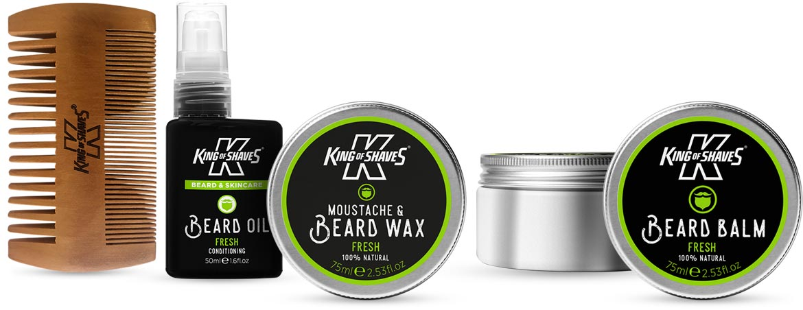 New Beard and Moustache range from King of Shaves