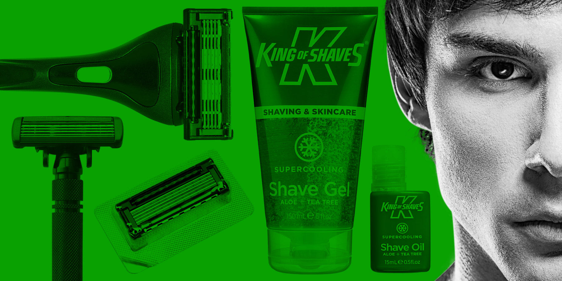 King of Shaves Eco Plans – Less Deliveries, Same Great Prices