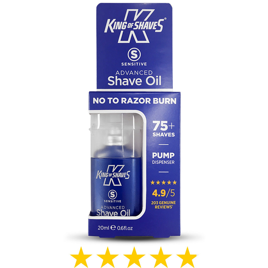 4.9/5 Advanced Shave Oil