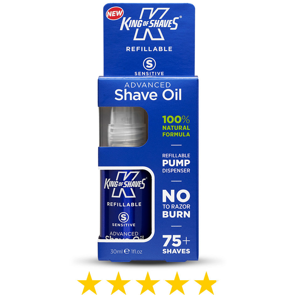 King of Shaves Advanced Shave Oil Refillable