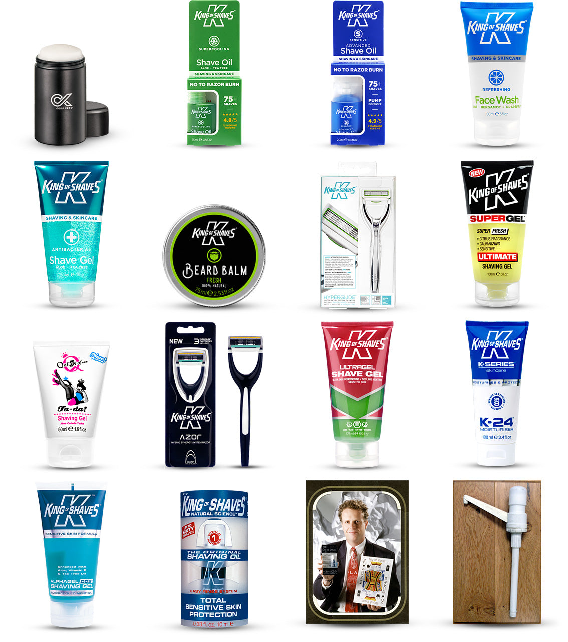 King of Shaves was founded in 1993