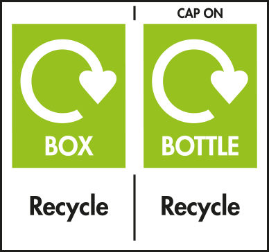 Box and Bottle Widely Recycled, Cap Check Locally