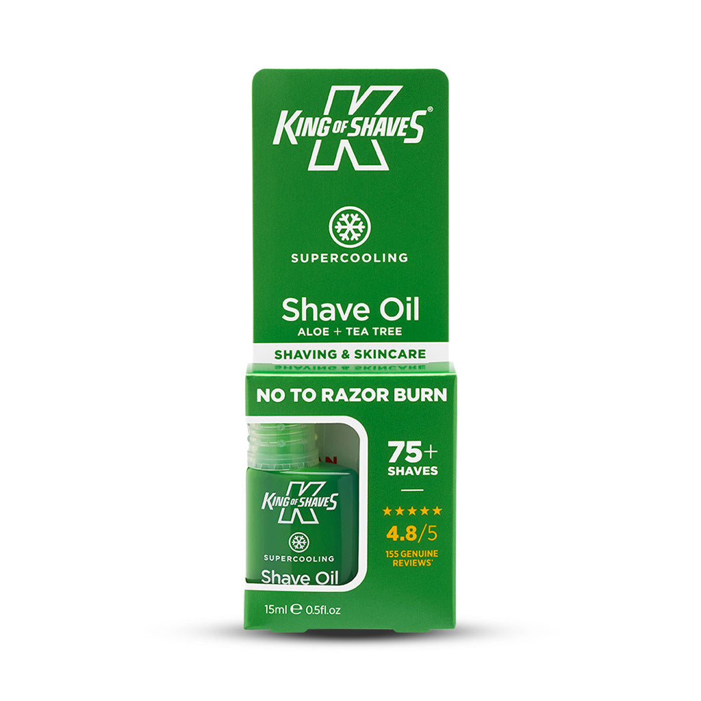 King of Shaves SuperCooling Shave Oil (15ml)