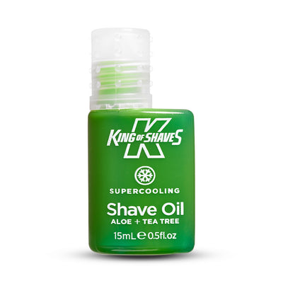 King of Shaves SuperCooling Shave Oil bottle
