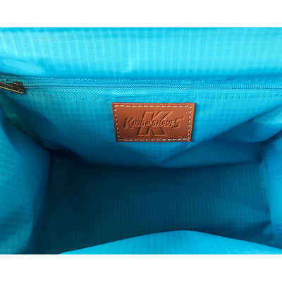 King of Shaves Toiletry Wash Bag (Tan) interior
