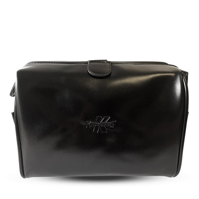 King of Shaves Toiletry Wash Bag (Black)
