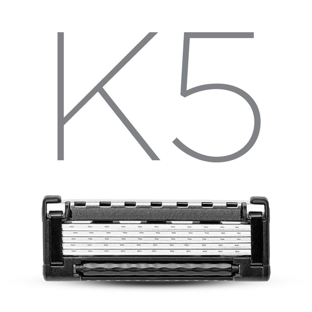 King of Shaves K5 Five Blade Cartridge Packs